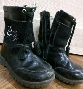 Осенние ботинки Котофей 24 размер