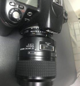 AF Micro Nikkor 105mm.