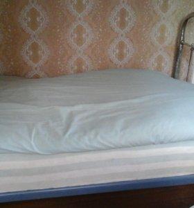 Никелированная кровать