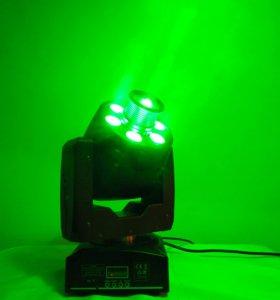 Световая голова Spot/Wash 30w + 60w 2in1 RGBW