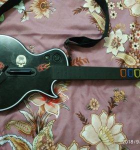 Игра Guitar Hero 3 + гитара (требуется ремонт)