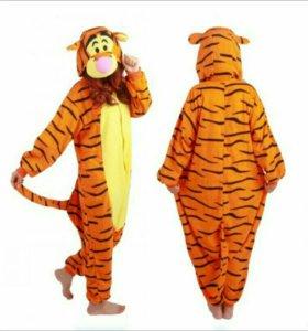 Пижама костюм Тигра кигуруми