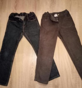 Джинсы и вельветовые джинсы