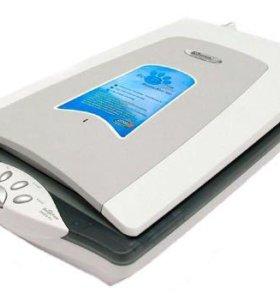 Планшетный сканер со слайд-адаптером