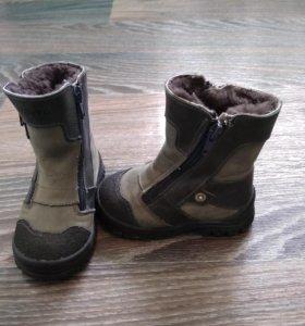 Ботинки зимние Тотто