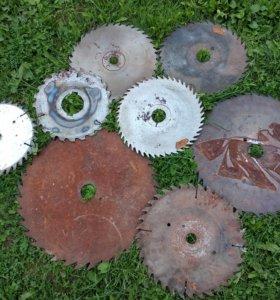 Пилы дисковые для циркулярной пилы