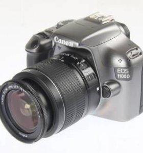 Зеркальный фотоаппарат Canon 1100 d