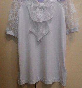 Новая блузка р.134-140 ALOLIKA