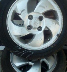 Колеса Kia Picanto 165/60/14. 4*100