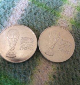 монеты 2018 год