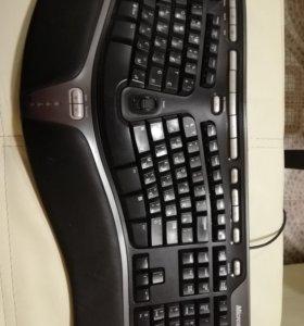 Игровая клавиатура Microsoft