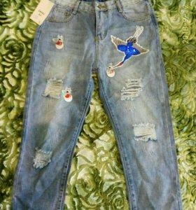 Двойка футболка с джинсом