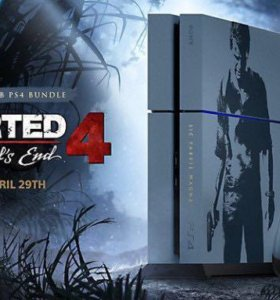 PlayStation 4 1ТБUncharted 4:Путь Вора.