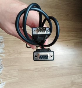 кабель 9 pin vga