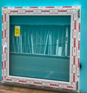 Готовые пластиковые окна и двери разных размеров