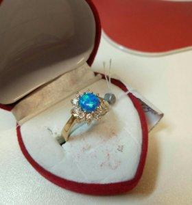 Кольцо Золото 585 Опал