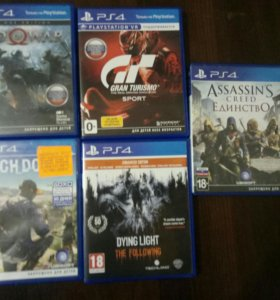 Игры для 4 Sony