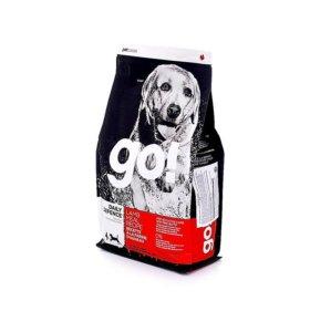 Сухой корм Go для щенков и собак со свеж. ягненком
