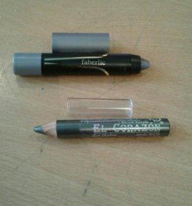 Тени - карандаши