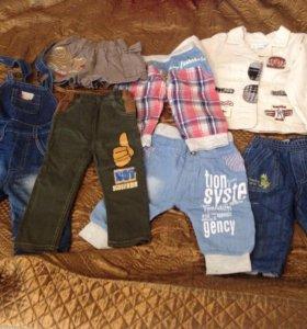 Вещи для мальчика до 1-1,5 лет