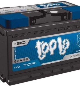 Аккумулятор Topla Top 6СТ-75 Ач о.п. (R+) LB3