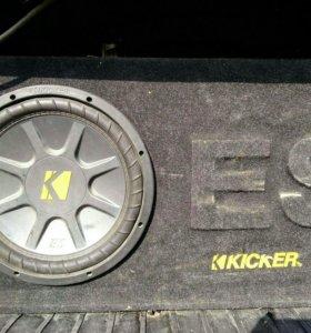 Сабвуфер Kicker Es12