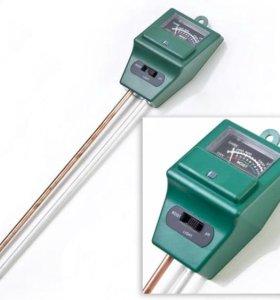 Измеритель кислотности ph грунта