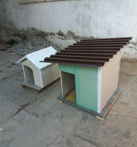 Будки для собак  1000  и 1500