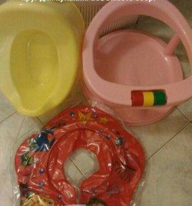 Стульчик для купания, круг, горшок