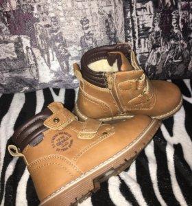 Ботинки новые 28 зима