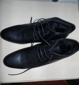 ботинки мужские зима.