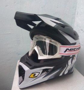 Кроссовый шлем michiru