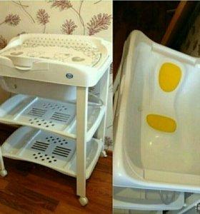 Ванночка пеленальный столик