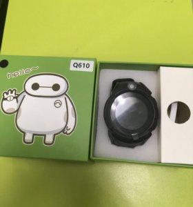 Детские часы с gps Q610