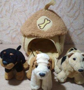 Домик с собачками