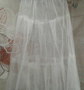 Кринолин+подъюбник (кольца) для свадебного платья