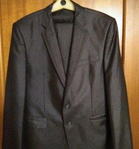 Костюм синий (пиджак+брюки)