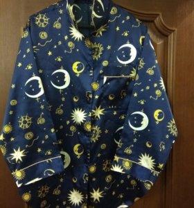 Пижама спальное бельё рубашка брюки