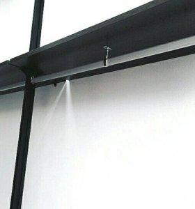 Стойка для вешалок (витрина)