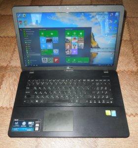 """Игровой Asus X751L c большим экраном 17,3"""""""