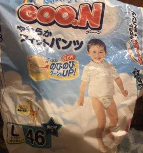 Подгузники трусики GoooN L 9-14 для мальчиков