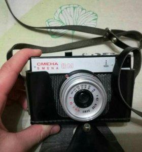 Фотоаппарат 'СМЕНА-8М' (СССР)