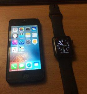 iPhone 5 + iWatch 1