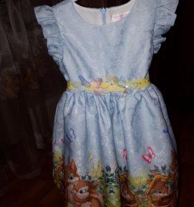 Платье для девочки 98/104