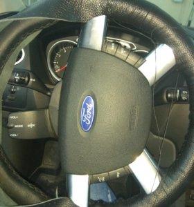 Пришиваю оплётку на руль