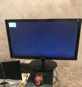 монитор samsung ls24a300bl,ж/к,диаг. 23,6д,full hd