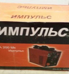 Новый инверторный сварочный аппарат ИМПУЛЬС ИСА200