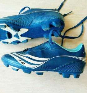 Футбольные бутсы от adidas 33р