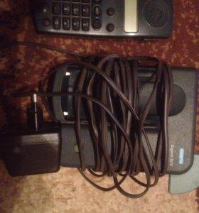 Телефоны стационарные с переносной трубкой