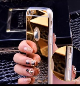 Чехол Бампер зеркальный  для Айфон